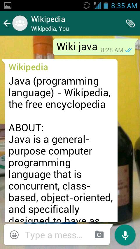 15813183940 - How to Use Wikipedia On WhatsApp | CodeKul Blog