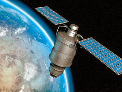 Satellite working of internet connection
