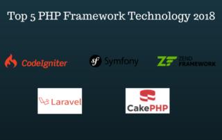 Top 5 PHP framework Technology