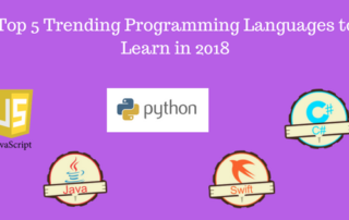 Top 5 trending programming languages to learn in 2018